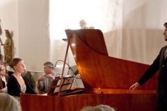 Sonja Lohmiller und Benoit Capt beim Konzert