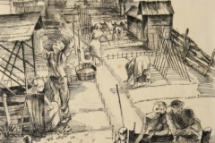 Heimgärten Federzeichnung 1926