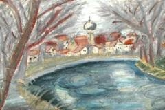 Partie an der Donau  LupeDr. Rudolf Dieter zum 100. Geburtstag  LupeDr. Rudolf Dieter - Vita