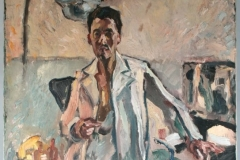 Alfred Mendler Selbstporträt um 1923