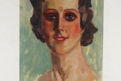 Alfred Mendler Frauenportait
