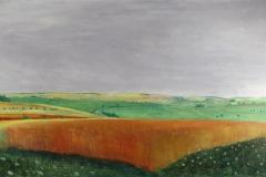 Albert burkart Das Weizenfeld 1946