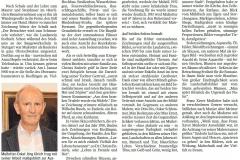 Berichterstattung in der Schwäbischen Zeitung am 16. Oktober 2017