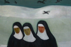 1931 Schwestern im Schnee