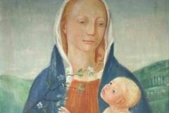 1946 Madonna mit Kind und Blütenzweig