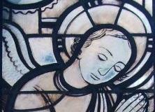 Glasfenster von Albert Burkart